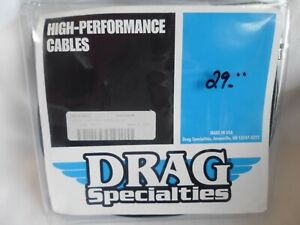 Drag Specialties 0650-0352 Black Vinyl Throttle Cable 32 1/2 Housing 90 degree