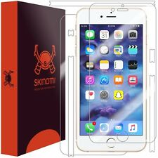 Skinomi FRONT AND BACK Clear Skin+Screen Protector For Apple iPhone 7 Plus