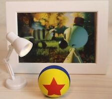 Wally B. Short Pixar Antena Ball &  Mini Led Lamp & postcard 2