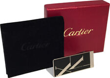 Cartier Stainless Steel Money Clip Boxed With Pouch Rare