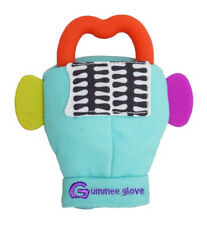 Gummee Glove Yellow Baby Teething Mitten with Silicone Teether Ring Toy