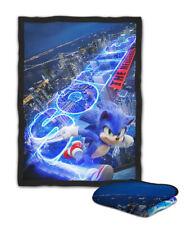 Sonic The Hedgehog City Blanket ( KIDS / MEDIUM / LARGE )