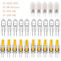 1-10PC G4 LED-Lampen COB 2W 3W 6W Kapselleuchte / 20W Halogenlampe AC/DC 12V