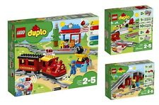 LEGO 10874, 10882, 10872 -  Duplo, Train - Steam Train & Track - Building Sets