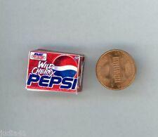 Miniature Dollhouse 12 Pk. of Pop / Wild Cherry Pepsi