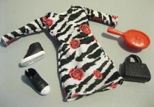 FITS SKIPPER VICTORIOUS Victoria Justice TORI DOLL ZEBRA DRESS SHOE CLOTH OUTFIT