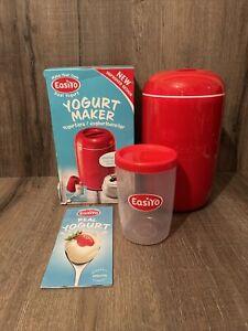 Easiyo Red Yogurt Maker 1kg And Jar Boxed