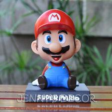 Super Mario Toys Bobblehead Nodder Figure Shaking Head Doll Car & Home Decor