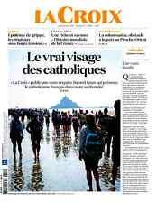 La  CROIX*12.01.2017 n°40695*Le VRAI visage des CATHOLIQUES*COLONISATION*Hist.Fr