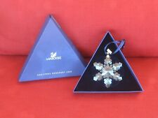 Swarovski 2008 Crystal Snowflake Christmas Ornament