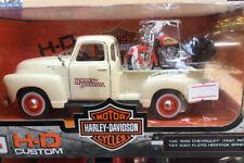 MAISTO H-D CUSTOM HARLEY- DAVIDSON  MOTOR CYCLES 1/24 SCALE