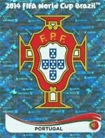 Panini WM 2014 507 Portugal World Cup 14Wappen Logo Glitzer Badge Foil