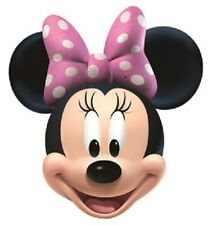 Minnie Mouse Disney Single 2D Card Fun Face Mask. Great for Children's Parties