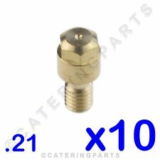 PACK 10 x SIT LPG .21mm BURNER NOZZLE INJECTORS FOR PI46 GAS PILOT ASSEMBLY IN21