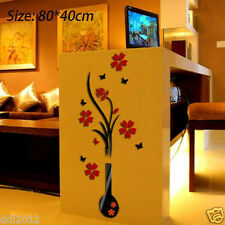 Flower Tree Family Removable DIY Art Vinyl 3D Wall Sticker Decal Home Room Decor