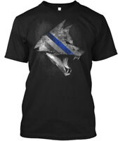 Thin Blue Line K-9 - K 9 Hanes Tagless Tee T-Shirt