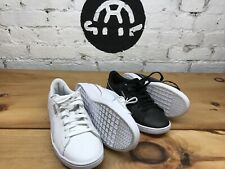 Puma Women's Vikky V2 Leather Sneaker Shoes Black ~ White