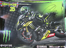 "Cal Crutchlow Signed Yamaha Mini Poster 13""x18"" - 2 Posters"