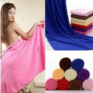 Large Luxury Microfibre Towel in High Fashion Colours