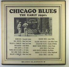 "12"" LP-Various-Chicago Blues-The Early 1950's - c870-RAR"