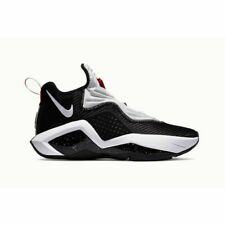 Nike Lebron Soldier XIV Basketball Shoes Black White Red CK6024-002 Men's NEW