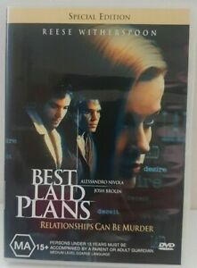 Best Laid Plans (DVD, SPECIAL EDITION) 1999 Reese Witherspoon, Josh Brolin - R4