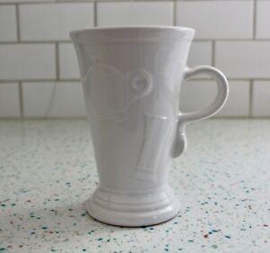 Fiestaware White Pedestal Mug NEW