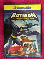 EL INTREPIDO BATMAN DVD WARNER KIDS 4 EPISODIOS