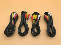 St.Triple Dubbing Cables, 6' Black Point TV Wire and Cable BBA-044 Gold LOT OF 4