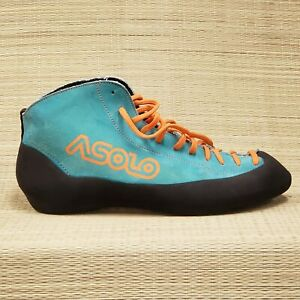 VTG Asolo Axis Mens Size UK 10 EUR 44 US 11 man Hiking Suede Blue Climbing Shoes