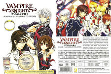 DVD ANIME Vampire Knight Sea 1&2 Ultimate Collection English Dubbed + FREE ANIME