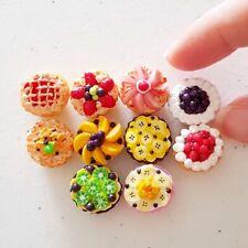 Dollhouse Miniature Food Bakery Mixed Fruit Tart Dessert Barbie 1:6 Scale Lot