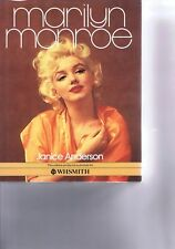 MARILYN MONROE BYJANICE ANDERSONHardback Book1983