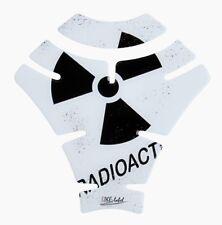 CUSCINETTO SERBATOIO 3d radioactive WHITE 500763 universalmente corrispondente SERBATOIO MOTO PROTEZIONE