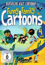 DVD Funny Family Cartoons Vol.1 - Mico Das Äffchen Komplette Staffel.u.a. 4DVDs
