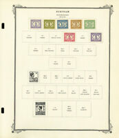 Suriname Mint 1800s to 1970s Solid Stamp Collection