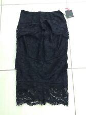 Ladies Black Lace Skirt From Very New with Tags Size UK 10