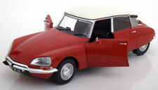 CITROEN D SPECIAL 1972 ROUGE MASSENA WHITE ROOF SOLIDO 1800702 1/18 DS RED ROT