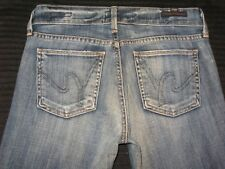 Citizens of Humanity Jeans Amber Low Rise Straight Leg Soft Distressed Sz 24