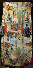 Star Wars Return Of The Jedi Science Fiction 2 Curtain Panels 24 By 62 Vintage
