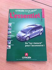 Catalogue accessoire CITROEN C4 Picasso octobre 2006
