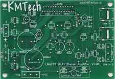 Lm4780 AMPLIFICATORE STEREO HIFI NUOVA VERSIONE 1.3. 2 x 60w Rms Pcb Fai Da Te Prezzo GOCCIA!