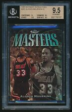 1997-98 Finest Silver Refractor #281 Alonzo Mourning BGS 9.5 /1090