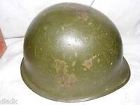 Vintage Korea Viet Nam Era M1 Steel Pot Army Helmet