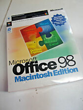 Microsoft Office 98 Gold Macintosh Edition New old stock - Factory sealed box