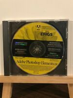 Pre-owned ~ Adode Photoshop Elements 2.0 EFIGS Computer Software CD-ROM 2002