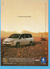 BELLEU004-PUBBLICITA'/ADVERTISING-2004- PEUGEOT 807