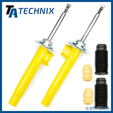 2 Performance Shock Absorbers Front Axle + Dust Cover - BMW 3er E46