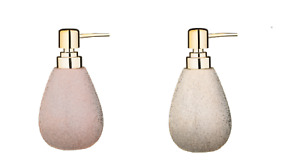 New Stunning Gold or Rose Gold Textured Soap Dispenser, Lovely Addition