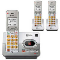 NEW ATT 3 Landline Cordless Telephone Portable Wireless Mobile Home Office Phone
